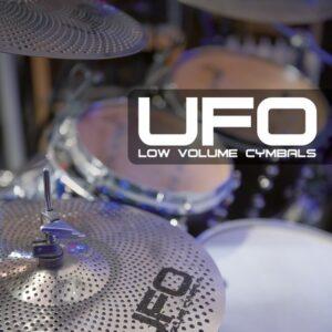 UFO - Low volume symbal set